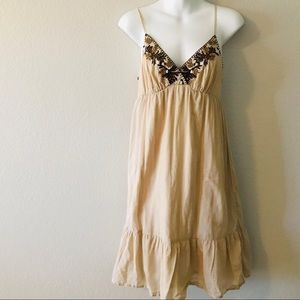 Old Navy Peasant Dress Spaghetti Strap Dress Small